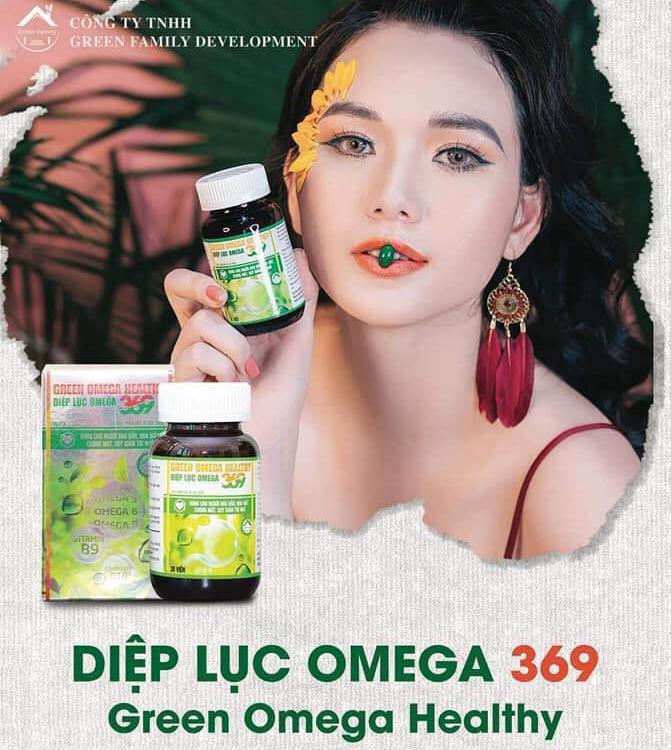 Diệp lục Omega 369 - Green Omega Healthy