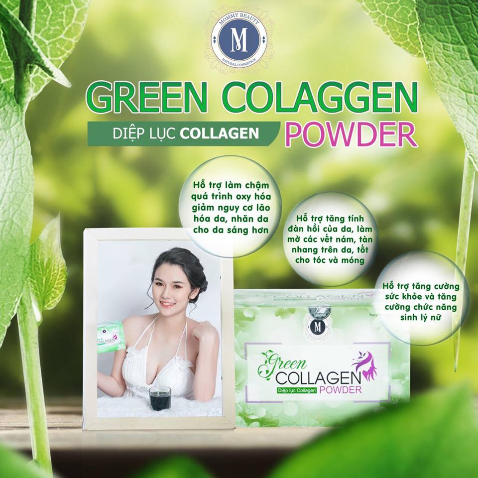 Diệp Lục Collagen có tốt không ? Có nên sử dụng Diệp Lục Collagen ?