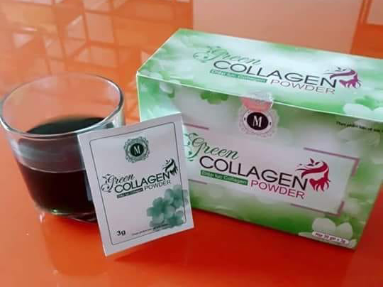 Diêp lục Collagen